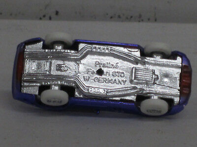 Pral Käfer // Brezelkäfer lilametallic mit weißen Reifen OVP Bijou,1:87 o