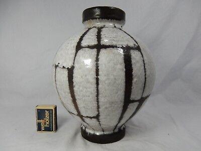 """Rare / seltene 60´s design Carstens Luxus """" Lava """"  Keramik Vase  191 - 23 4"""