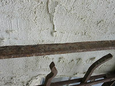 Antique Victorian Iron Gate Window Garden Fence Architectural Salvage Door #78 6