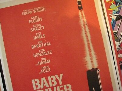 """Baby Driver  (11"""" x 17"""") Movie Collector's Poster Prints (Set of 3) 6"""