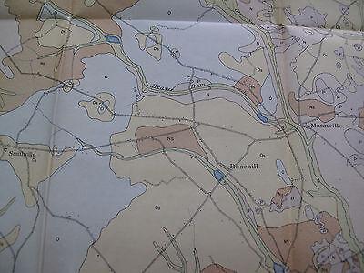 Soil Survey Map Lee County South Carolina Bishopville Lynchburg Smithville 1907 5