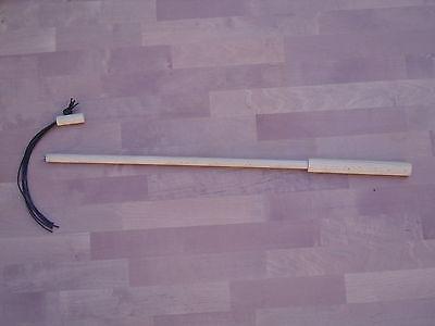 pipano Katzenangel 58 cm mit wechselbarem Lederkordel Adapter, Holz, KL58 2