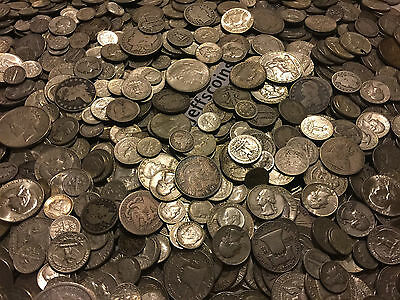 ✯1 Ounce OZ 90% SILVER US COINS $✯OLD ESTATE SALE LOT HOARD✯ BULLION +FREE GOLD✯ 12