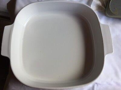 Corning Ware Wildflower Petite P-43-B & 2.5 QT A-10-B Casserole Dishes Glass Lid 2