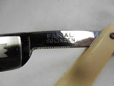 Vintage NOS straight razor Rasiermesser FANAL  Solingen unbenutzt unused  13 4