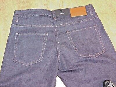 HUGO BOSS MENS MAINE 3  REGULAR FIT jeans in stretch denim 2 SIZES BNWT