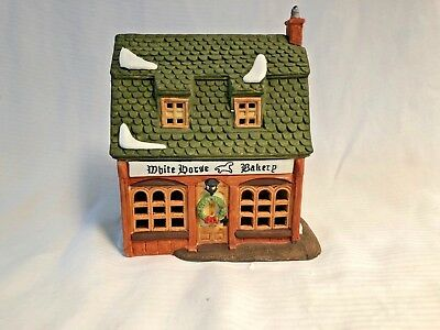 "Department 56 Heritage - Dickens Village Series ""White Horse Bakery"" 1988 5926-9 2"