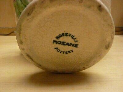 Roseville Pottery Rozane 1917 Floral Compote / Vase / Urn / Planter 6