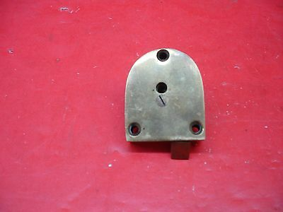 Vintage Antique Original Concealed Release Trigger Brass Latch Hardware 6