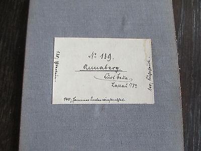Messtischblatt auf Leinen von 1924 Annaberg/Sachsen Nr. 139