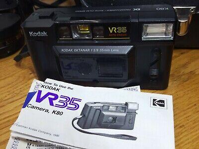 Lot Vtg Camera & Lenses Kodak VR35 Yashica Conversion Kit Tele-wide Finder Japan 5