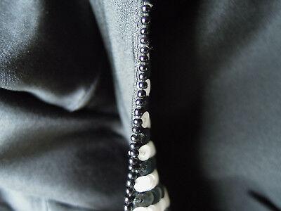 Kleid Abendkleid Escada Couture Gr. 36 schwarz weiß Pailletten edel LUXUS PUR 11