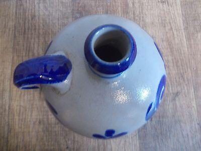 Westerwälder Tonflasche,Keramik Flasche,Salzglasur,Westerwald,Feldflasche 5