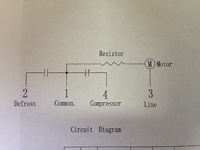 3x Westinhouse Kelvinator Electrolux Fridge Defrost Timer 8Hr p/n1448728 0501 2