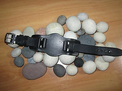 18mm-20mm-22mm Correa Reloj cuero BUND Pulsera Leather Watch Band Strap 2