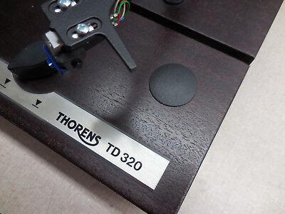 Vintage Thorens Height Adjustment Spring Cover For Td 320 Td 520