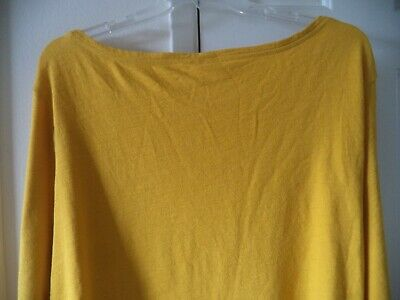 Mustard Yellow Turtleneck Ruched Gathered Cinch Tie Front Top 255 mv Shirt S M L
