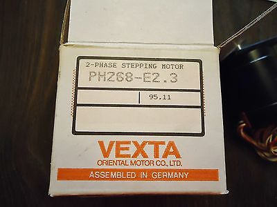New Vexta 2-Phase Stepping Motor Ph268-E2.3 Indexing System For Delvotec Machine