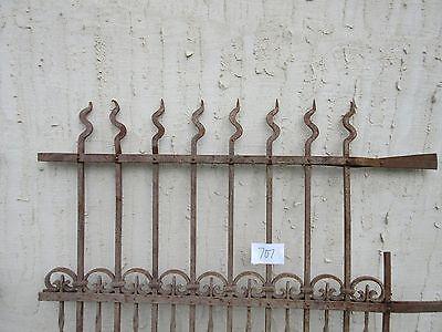 Antique Victorian Iron Gate Window Garden Fence Architectural Salvage Door #707 4