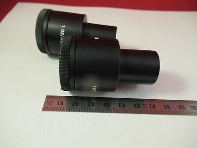 Olympus Japon Oculaire Oculaire Whk 10x/20 Microscope Pièce comme sur Photo # 6