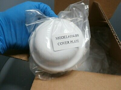 25 Pack NEW 104-BW COVER PLATE (WHITE) 2