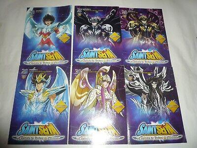 Lote 31 Dvd Los Caballeros Del Zodiaco+Poster,Infierno,Santuario,Eliseos (Nuevo) 6