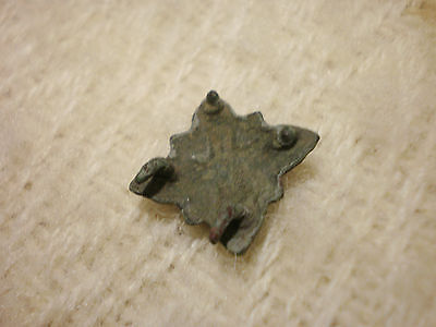 RARE ANCIENT Viking Bronze Belt Decoration 9 - 10 century AD  #5