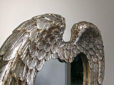 Vintage Angel Wings Cherub Wall Mirror