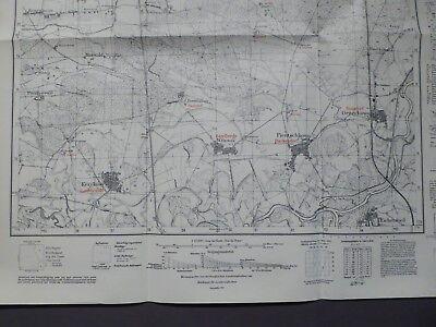 Landkarte Meßtischblatt 3870 Pientschkowo, Rankendorf, Posen, Schroda, 1940