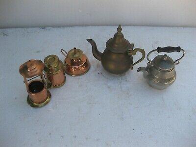 lote de 5 utensilios en cobre y bronce muy bonitos 2