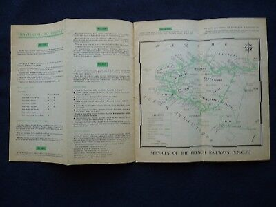 1950s Vintage Guide Brittany France Town Guides Railway Celebrations 3
