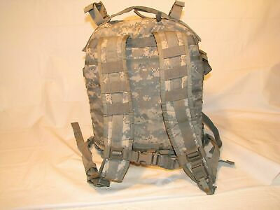 US ARMY ACU ASSAULT PACK 3 DAY MOLLE II BACKPACK w/ Stiffener VGC Made in USA 5