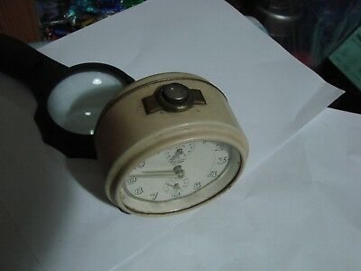 Junghans Vintage Alarm Clock Art Deco 5