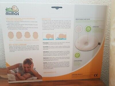 MIMOS Baby Pillow (Size-M)for Baby Flat Head Syndrome (Plagiocephaly) NEW In Box 8