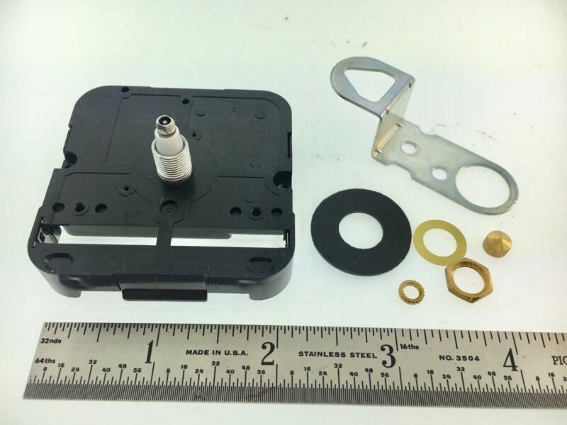 Takane Quartz Battery Clock Movement Short Shaft High Torque Made in USA 2