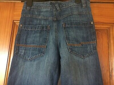 Next Boys Age 12 Blue Jeans Height 152cm in Great Condition 100% Cotton 5