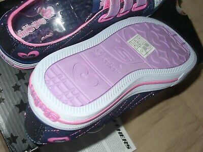 "Skechers Girl's Twinkle Toes Limited Edition Sz1.5 NWB. 10959L/DNPK 9"" IN LENGTH 10"