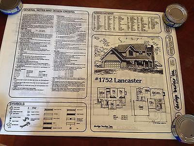 Home plans by Design Basics - 4 bedroom 3 bath 1846 sqft finished -  bond print 2
