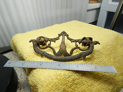 1-Antique? unmarked Cabinet Replacement Pull Bedroom Dresser Drawer Handles 3