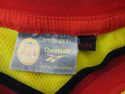 7ebe9d5fd 5 of 6 Adidas Liverpool Football Shirt 90s 1997-99 Vtg Vintage Soccer Jersey  46 48 XL
