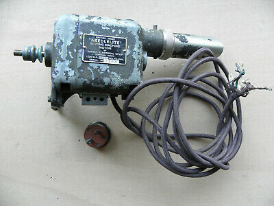 Vintage Needlelite Sewing Machine Motor Carter Electrical 200/50V Universal Acdc 2
