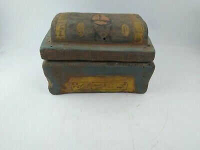 Rare Ancient Egyptian Antique Jewelry  Box 1114-800 Bc 9