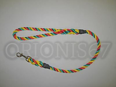 Extra Heavy Duty Dog Clip Lead 14 mm Rope Various Sizes & Colours Handmade 9
