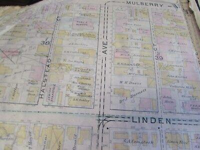City Of Scranton - 1898 Downtown Map - Ward 8,17,9 - I.c.s, Scranton H.s. (#1) 8