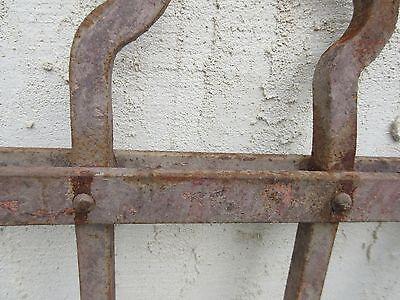Antique Victorian Iron Gate Window Garden Fence Architectural Salvage Door #707 6