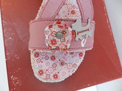 Chipie Mitoune Sandales Fille 32 Chaussures Sabots Nu-pieds Fleurs Azalee Neuf 2