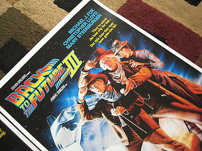 """Back to the Future ( 11"""" X 17"""" ) Movie Collector's Poster Prints ( Set of 3 ) 7"""