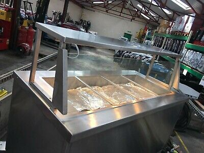 Newco Commercial Hot Cupboard Heated Carvery Trolley . 3