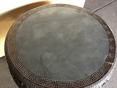 "ANTIQUE CHINESE CARVED TABLE STAND  36"" Diameter  ""T875"" 5"