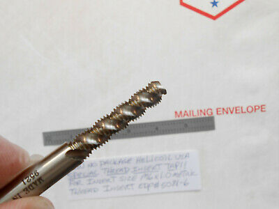 New Helicoil M6 X 1.0 Special Thread Insert 3Fl Spiral Flute Bottoming Chamf Tap 8